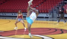 This Dude Stole The Show at Miami Heat Dance Auditions (Video)