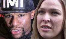 Mayweather Fires Another Shot Back at Rousey in Feud