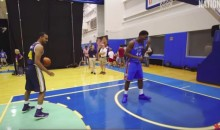 NBA Rookies Imitate LeBron, Iverson and Other Superstars (Video)