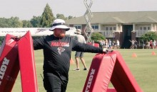 Red Lightning at Falcons Training Camp (Pic)