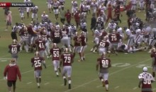 Redskins and Texans Brawl Four Times in Four Plays During Joint Practice (Videos)