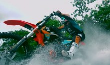 Robbie Madison Rides His Dirtbike Over Water (Video)
