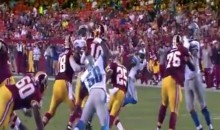 Robert Griffin III Gets Drilled, Suffers Concussion (Video)