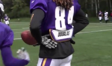 Stefon Diggs Saves Cordarrelle Patterson from a Crotch Shot (GIF)
