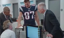 The SportsCenter Crew Fawns over Gronks Ring in This Ad (Video)