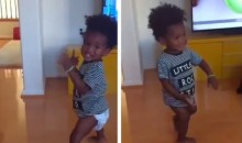Torrey Smith's Son Dances His Way Back Onto Instagram (Video)