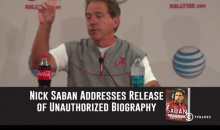 'Tosh.0′ Lays into Nick Saban about His Biography (Video)