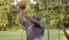 "Vince Wilfork Plays Basketball, Calls Himself ""The Real MJ"" (Video)"