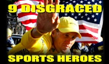 9 Disgraced Sports Heroes (Video)