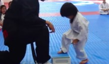 Watching This Little Taekwondo Student Try to Break This Board Is Both Awesome and Hilarious (Video)