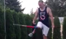 We've Got Another Softball Bat Flip-Trick Shot Clip for Ya (Video)
