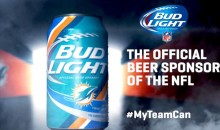 Bud Light Rolls Out #MyTeamCan Campaign with Slogans Specific to Each NFL Team (Video + Pic)