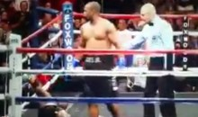 This Roy Jones Jr Knockout From Saturday Night Will Make You Want to Party Like It's 1999 (Video)