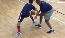 Steph Curry Nutmegs Coach at USA Basketball Training Camp (Video)