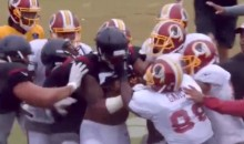 Here's What the Texans-Redskins Brawl Looked Like on HBO's 'Hard Knocks' (Videos)