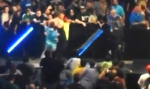 Was Dean Ambrose Almost Stabbed by a Crazy Fan at WWE Smackdown? (Video)