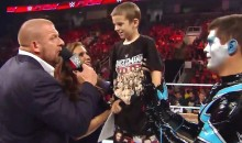 "WWE Signs Eight-Year-Old Cancer Patient ""Drax Shadow"" to Contract on ""Monday Night Raw"" (Videos)"