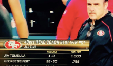 This NFL headline about 49ers Head Coach Jim Tomsula is ridiculous (PIC)