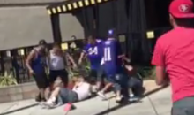 49ers Fans Brawl Outside LA-Area Buffalo Wild Wings (Video)