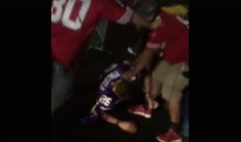 49ers Fans Brutally Beat Vikings Fan in Parking Lot Following MNF Game (Video)