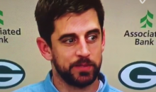 Aaron Rodgers Mocks Russell Wilson in Post-Game Interview (Video)