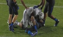 BYU Player Punches Boise Player in the Groin (Video)