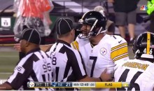 Ben Roethlisberger Complains About Legal Play By The Patriots (Video)
