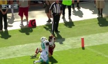 Brice McCain Protects Dolphins Lead with Crazy Interception (Video)