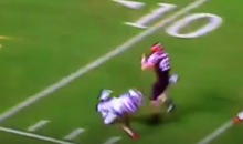 Va Tech FB Sam Rogers Breaking Ankles (Video)