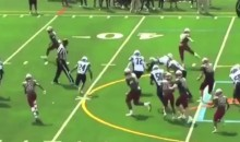 Check Out This Spin Move By Cam Newton's Brother, Caylin (Video)