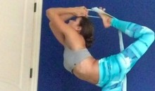 Danica Patrick Shows off Her Flexibility in this Instagram Video