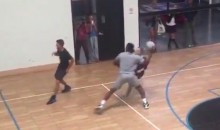 Dwyane Wade Shows He's A Fierce Dodgeball Player