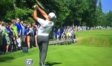 "Fan Yells ""Fire Goodell"" During Drive at Deutsche Bank Championship (Video)"