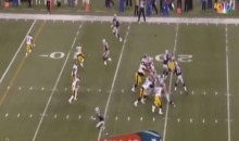 Gronk Uncovered on First TD of the 2015 NFL Season (Video)