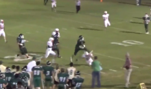 High School Player Hurdles Tackler to Complete Terrific TD Run (Video)