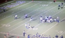 "High School Football Ref Hit From Behind Due to ""Bad Call"" (Video)"