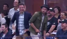 "Jimmy Fallon and Justin Timberlake Dance to ""Single Ladies"" at US Open (Video)"