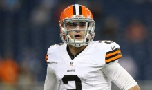 Johnny Manziel Sent Back to the Bench, Josh McCown Named Browns Starter
