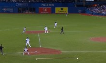 Jose Bautista Unleashes His Cannon From Right Field (Video)