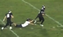 High School RB Trucks One Defender, Drags Another Into The End Zone (Video)