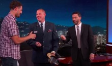 Klay Thompson and Jimmy Kimmel Award a Car to Terrorist-Thwarting Serviceman Spencer Stone (Video)