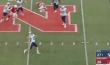 Last Second Hail Mary Touchdown Lifts BYU Over Nebraska (Video)