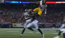 Steelers RB Le'Veon Bell Can Fly (Pic + Video)
