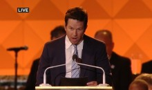 "Mark Wahlberg Says ""Go Eagles"" In Front of The Pope (Video)"
