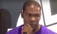 Of Course Kevin Durant Still Thinks He's The Best in the NBA (Video)