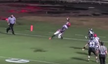 One-Handed Interception Wins HS Football Game, Is Amazing (Video)