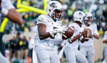 Check Out the New Oregon All-White Uniforms For MSU Game (Pics)