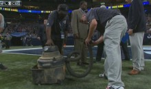 Rams-Steelers Delayed Due to Turf Fire (Videos)