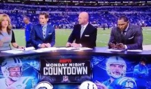 Ray Lewis Caught Checking His Phone On Live TV For 20 Seconds (Video)