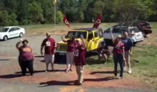 Redskins Fans Send Their Team Off In The Saddest Way Possible (Video)